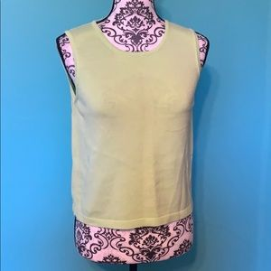 Lilly Pulitzer Plain Lime Green Cotton Shirt PM